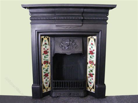 Edwardian Tiled Fireplace by Antiques Atlas Edwardian Tiled Fireplace
