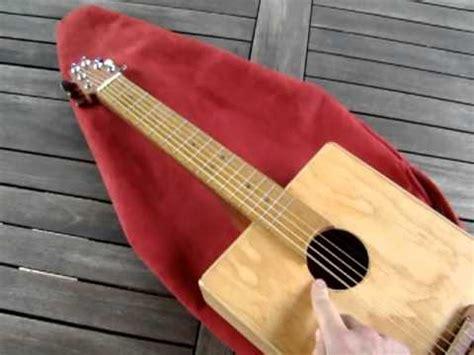 How To Make A Handmade Guitar - mini winebox guitar