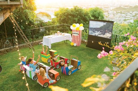 best movies for backyard movie night let s party 3 diy themes for your next birthday party