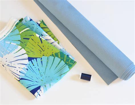 Mat Fabric by Diy Fabric Floor Mat Centsational