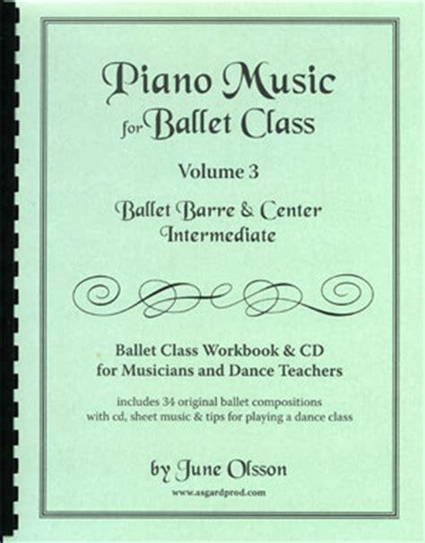 stories for intermediate level volume 3 books piano for ballet class vol 3 intermediate