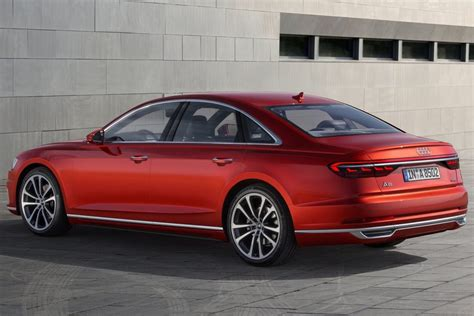 audi a8 2018 2018 audi a8 officially revealed performancedrive