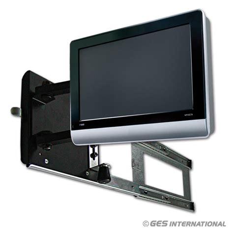 bracci porta tv porta tv per lcd estensibile con braccetti escursione 50 cm