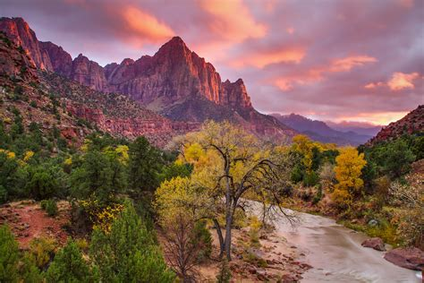 Landscape Photography Zion National Park The Watchman Zion National Park Clint Losee