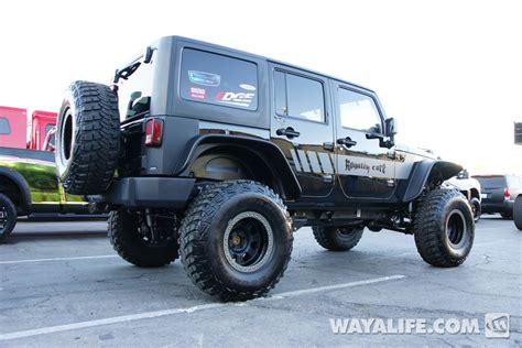 jeep black 4 door 2012 sema royalty black 4 door jeep jk wrangler