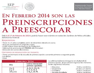 preinscripciones preescolar 2015 en distrito federal preinscripciones sepdf gob mx
