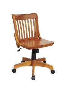 Desk Chairs With Wheels Design Ideas Fruitwood Armless Wood Swivel Desk Computer Task Chair Ebay