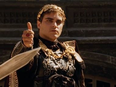 gladiator film age rating rise and fall of power commodus year of the 5 emperors