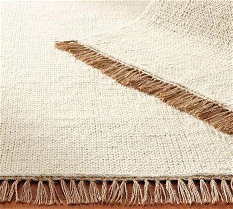 pottery barn braided rugs fringed braided wool rug pottery barn