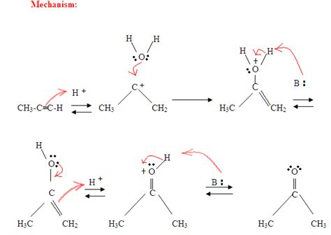 hydration reactions organic chemistry 9 4 hydration of alkynes chemistry libretexts