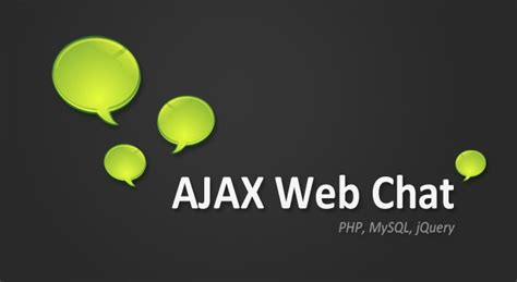 tutorial website chat making an ajax web chat part 1 php and mysql