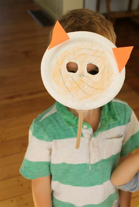 Tiger Paper Plate Craft - 48 best images about crafts on cardboard box