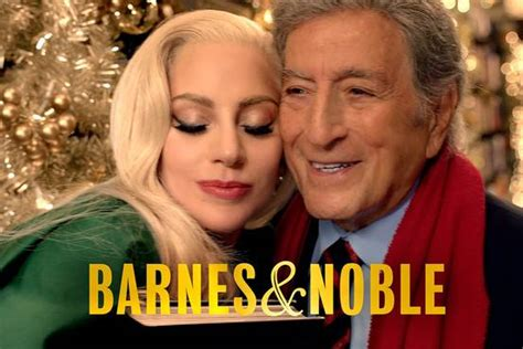 lady gaga biography barnes and noble barnes noble chairman creates tv ad with tony bennett