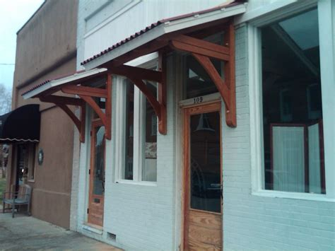entry awnings handmade office door awnings by moresun custom woodworking