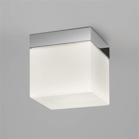 Square Ceiling Light Sabina Square 7095 Polished Chrome Bathroom Lighting Ceiling Lights