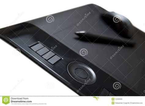 Mouse Pen Tablet tablet pen and mouse royalty free stock photo image 12406305