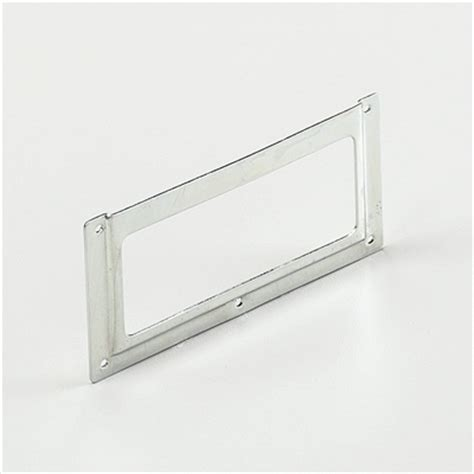 Metal Drawer Labels by Drawer Label Holder Anodized Steel