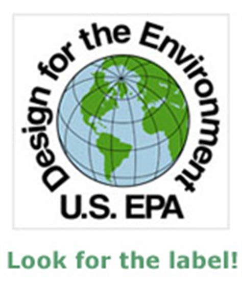 epa design for the environment logo u s epa design for the environment label my green
