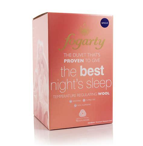 Fogarty Quilt by Fogarty Best S Sleep Wool Duvet From Slumberslumber