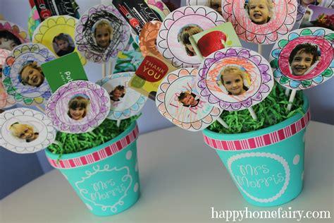 Teacher Gift Card Amount - gift card bouquet for the teacher happy home fairy