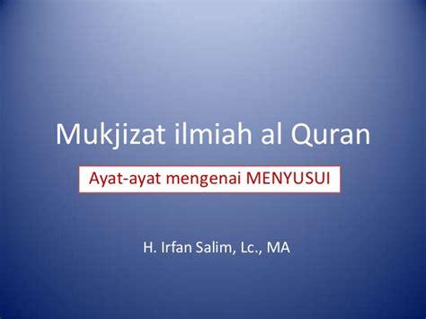 Mukjizat Menghafal Al Quran F1 mukjizat ilmiah al quran asi