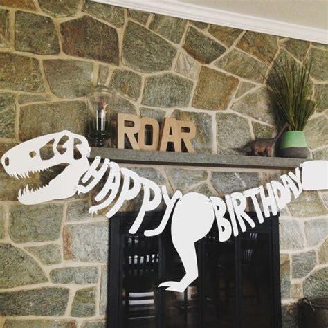 printable dinosaur birthday banner happy birthday dinosaur banner