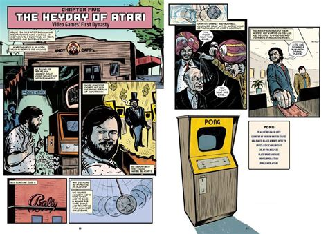 the comic book story of the history of the electronic gaming revolution the comic book story of book takes a unique