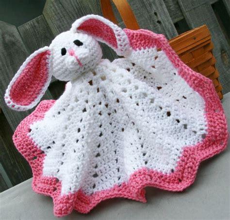 bunny lovey crochet pattern free bunny afghan blankie blanket buddie crochet in by