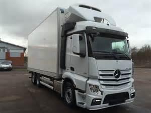 Mercedes Actros Trucks Used Mercedes Actros 2551 F 246 R Omg 229 Ende Leverans