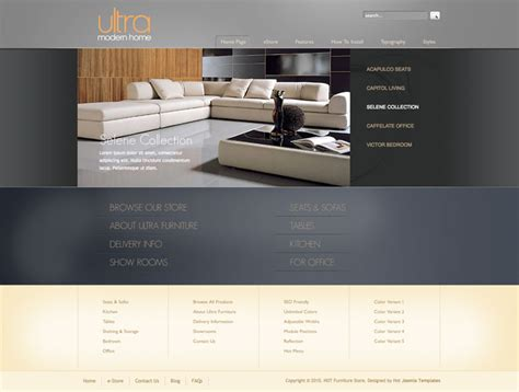 joomla furniture template hotthemes