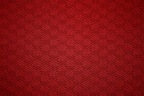 pattern texture free red knit fabric with diamond pattern texture picture