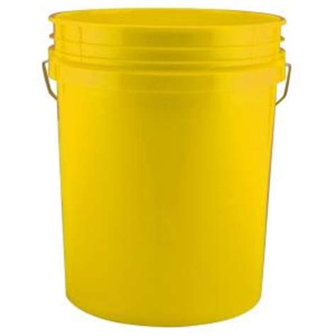 leaktite 5 gal yellow 120 pack 210667 the home