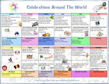 celebrations   world calendar  flip book  amy bray