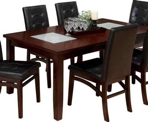 Sensei Oak Rectangle 7 Dining Set 588 72b 588 72t 6x588 243kd Decor South Jofran Dining Set Roselawnlutheran