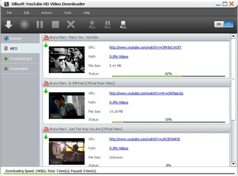 download youtube hd video downloader xilisoft youtube hd video downloader screenshot