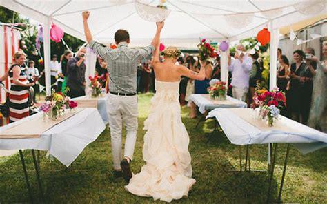 a diy wedding at home ii once wed おしゃれな海外風手作りウェディング 参考にしたい diy まとめ30選 vip works