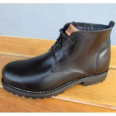 Mens Handmade Leather Boots - mens 3 inch handmade cowhide shepherd leather boots