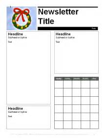 december newsletter template education world december parent newsletter template