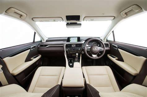 lexus suv 2016 interior 2016 lexus rx now on sale in australia from 73 000