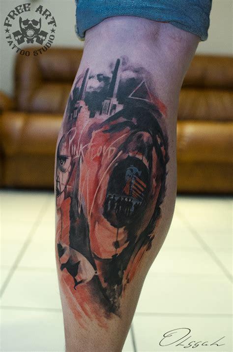 watercolor tattoo pink floyd pink floyd by olggah on deviantart