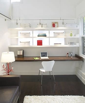 Pin By Chio On Decoraci 243 N Home Office Pinterest Modern Built In Desk