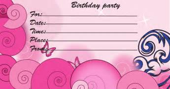 birthday invitations for teenagers 13 download