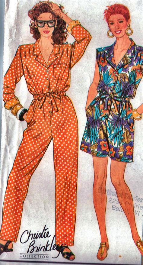 jumpsuit patterns for ladies items similar to jumpsuit sewing pattern women s medium