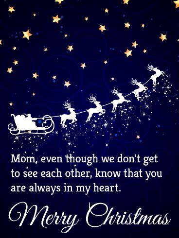 heart merry christmas card  mother birthday greeting cards  davia