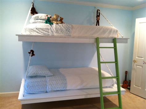 hanging bunk beds    home projects  ana