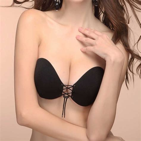 Strapless Brainvisiblevisible Bra push up bra silicone backless strapless bra seamless invisible bras womens