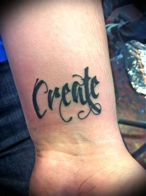 inspirational words for tattoos on wrist inspirational one word tattoos