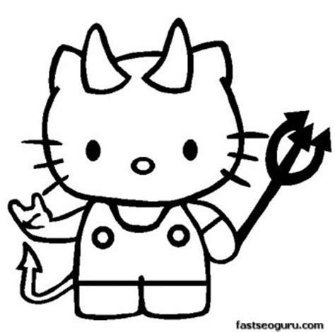 coloring pages of hello kitty halloween hello kitty halloween printable coloring pages printable