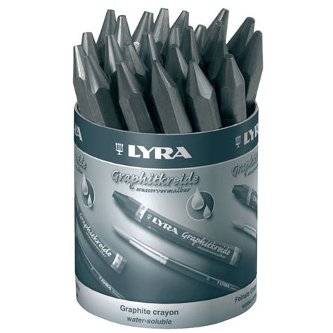 lyra sketchbook review lyra 5633240 graphite crayons water soluble assorted box