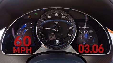 bugatti speedometer the bugatti chiron speedometer go nuts in a 0 200